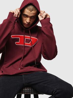 S-DIVISION-D, Bordeaux - Sweaters