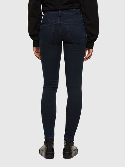 Diesel - Slandy Low 009PV, Dark Blue - Jeans - Image 2