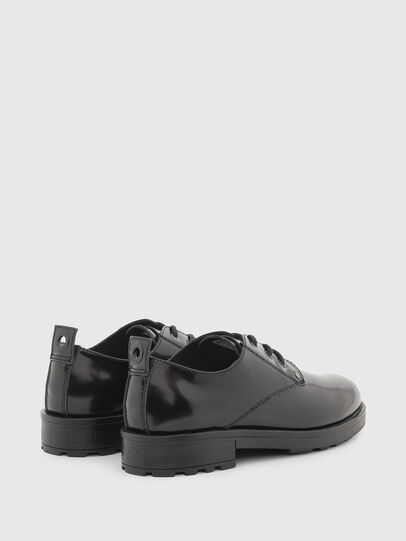 Diesel - D-THROUPER DBS, Black - Lace Ups and Mocassins - Image 3