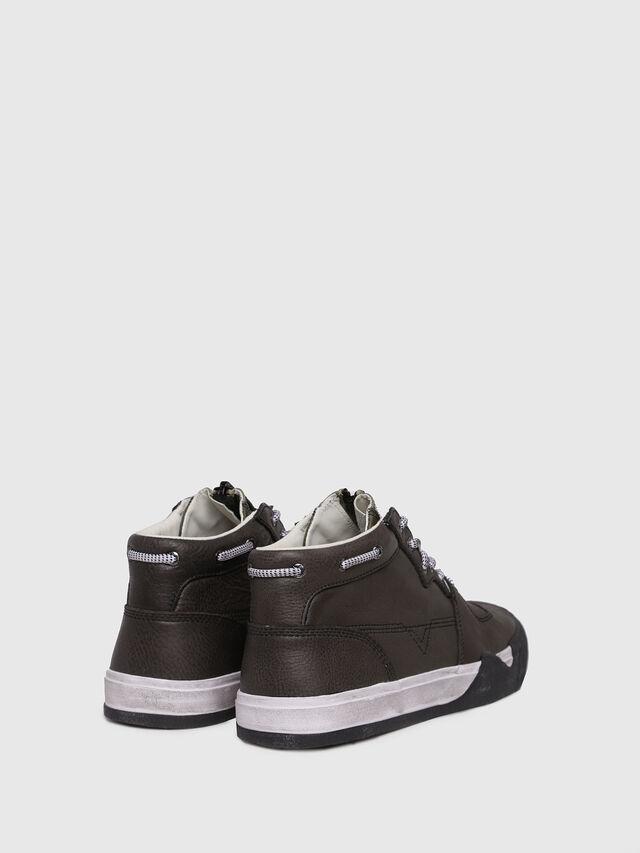 Diesel - S-GRINDD MID ZIP, Black - Sneakers - Image 2