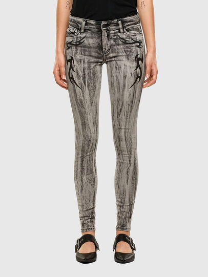 Diesel - Slandy 069NH, Light Grey - Jeans - Image 1