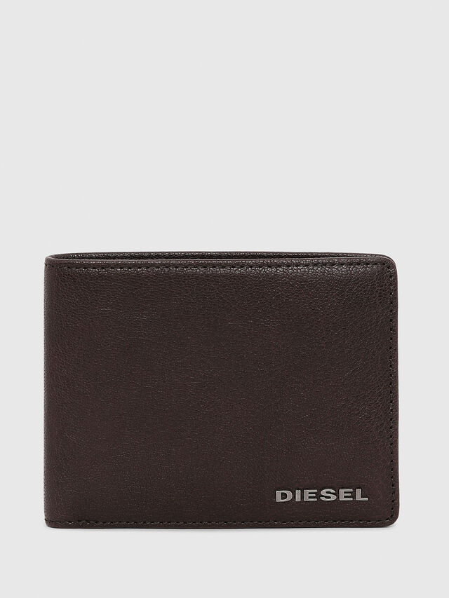 Diesel - NEELA XS, Dark Brown - Small Wallets - Image 1