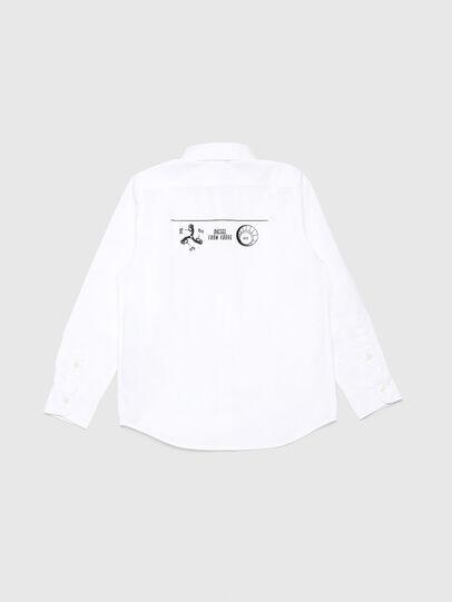 Diesel - CSVENPRINT, White - Shirts - Image 2