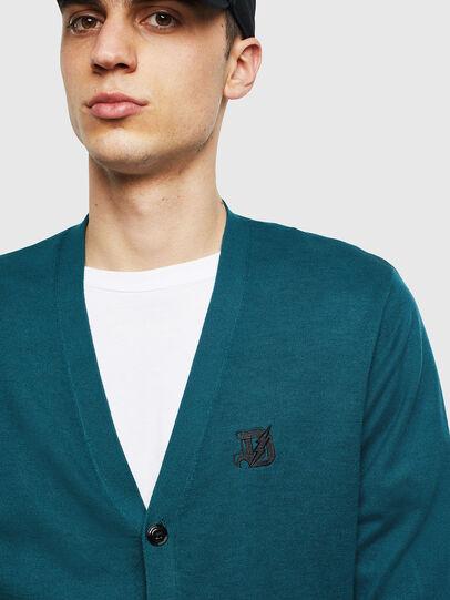 Diesel - K-TRASS, Dark Green - Knitwear - Image 3