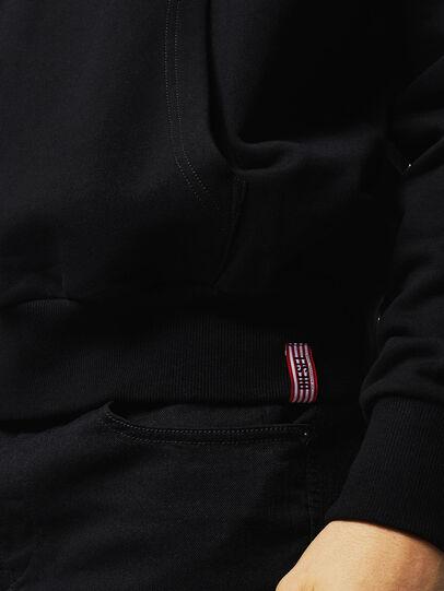Diesel - LR-S-GIRK-HOOD-VIC, Black - Sweaters - Image 4