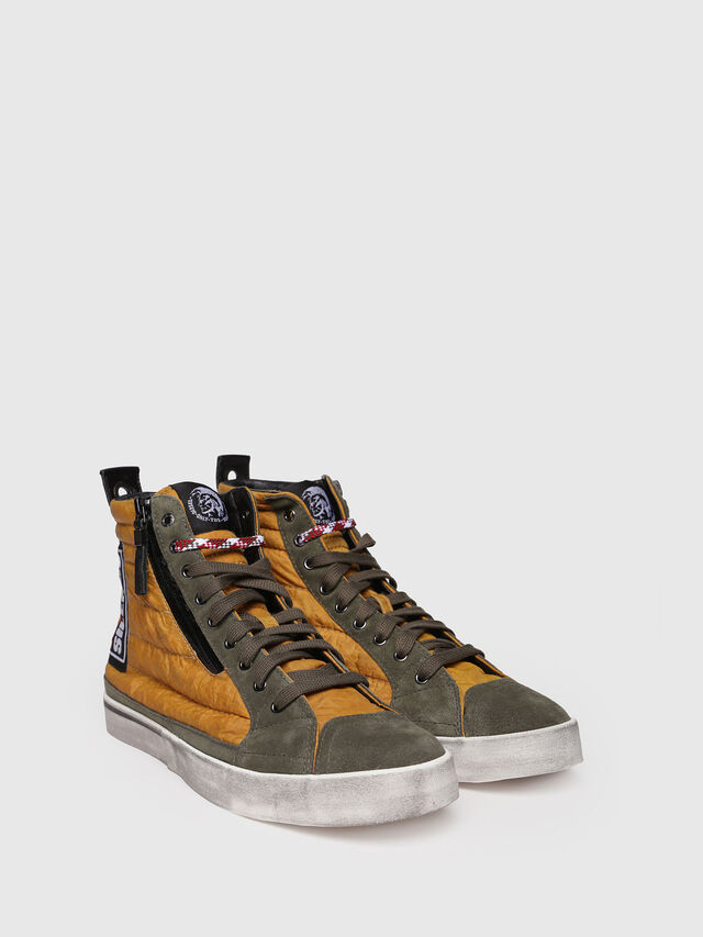 Diesel - D-VELOWS MID PATCH, Yellow - Sneakers - Image 3