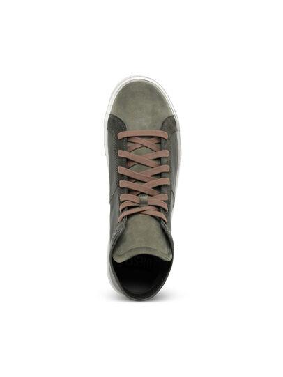 Diesel - S-MYDORI MC, Military Green - Sneakers - Image 6