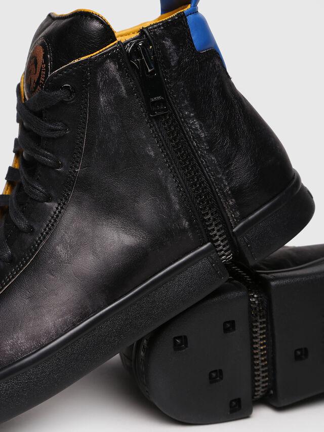 Diesel - S-NENTISH, Black/Blue - Sneakers - Image 4
