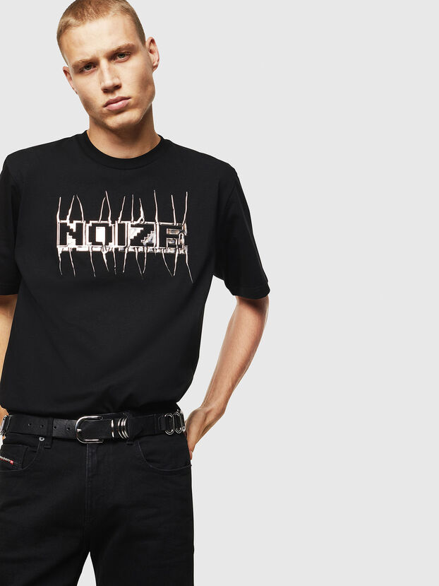 T-JUST-J11, Black - T-Shirts
