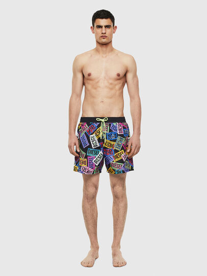 Diesel - BMBX-WAVE 2.017, Multicolor - Swim shorts - Image 1