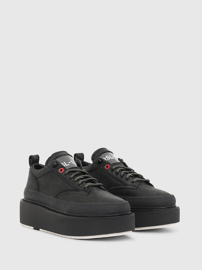 Diesel - H-SCIROCCO LOW LACE, Black - Sneakers - Image 2