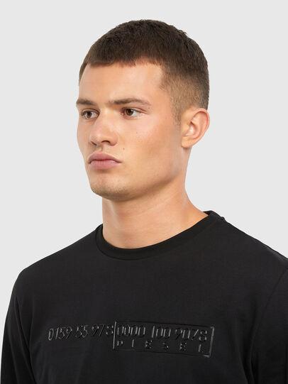Diesel - T-DIEGOS-LS-X5, Black - T-Shirts - Image 3