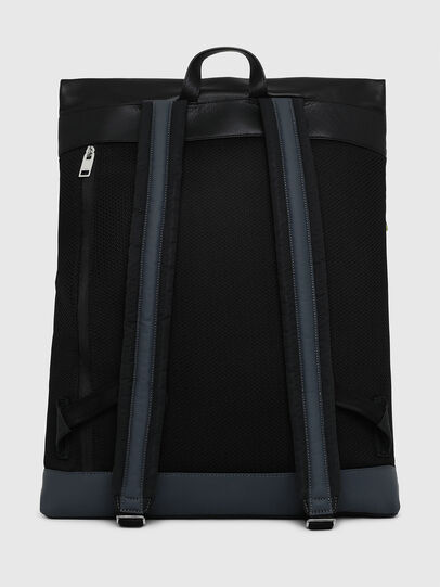 Diesel - L-TOLLE BACK, Black/Blue - Backpacks - Image 2