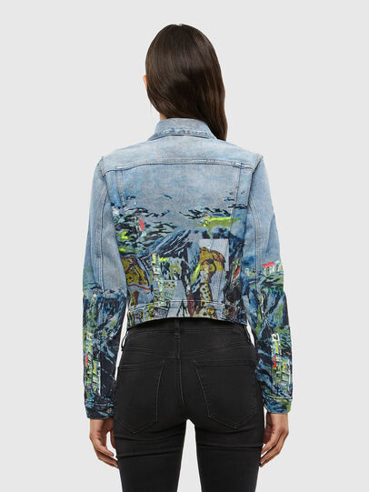 Diesel - DE-LIMMY-SX, Light Blue - Denim Jackets - Image 2