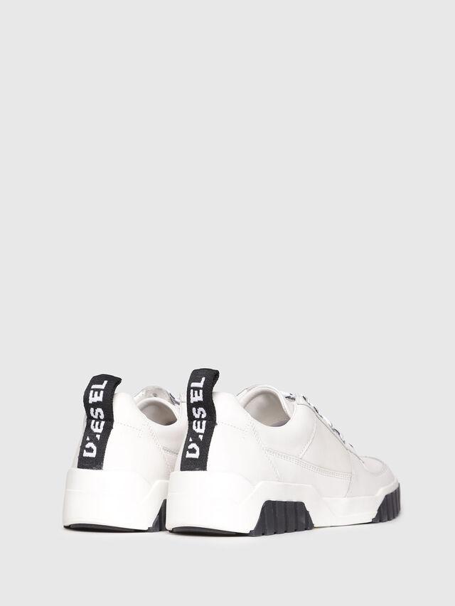 Diesel - S-RUA LC, White - Sneakers - Image 3