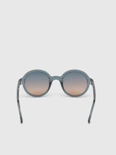 Diesel - DL0264, Blue - Sunglasses - Image 4