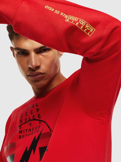 Diesel - S-GIRK-J2, Red - Sweaters - Image 4