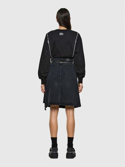 Diesel - DE-TOBY, Black - Skirts - Image 7