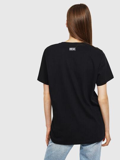 Diesel - T-DARIA-K, Black - T-Shirts - Image 2