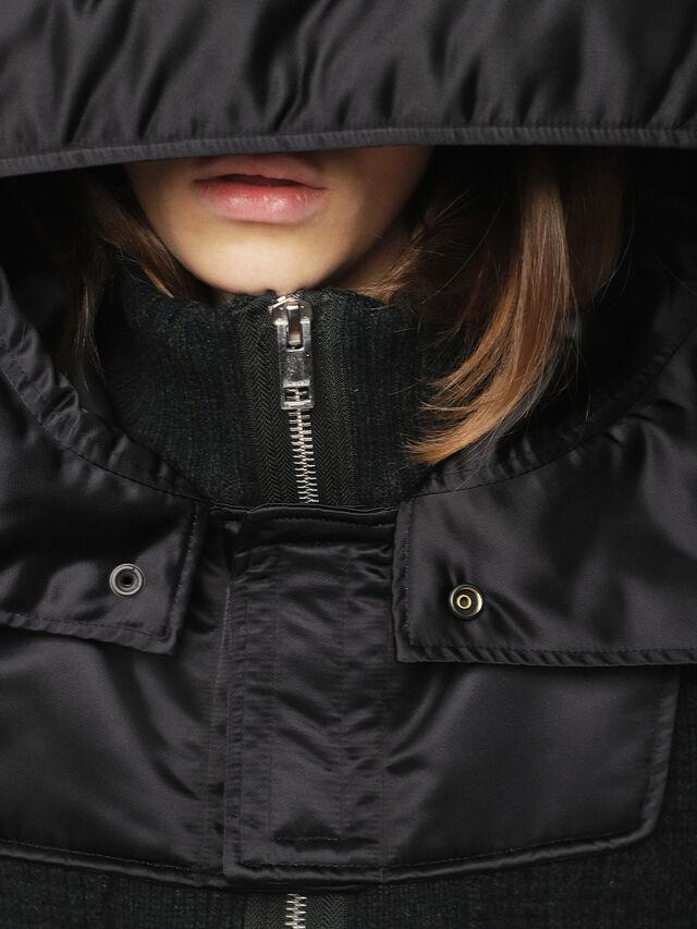 Diesel - M-LIF-FL, Black - Winter Jackets - Image 5