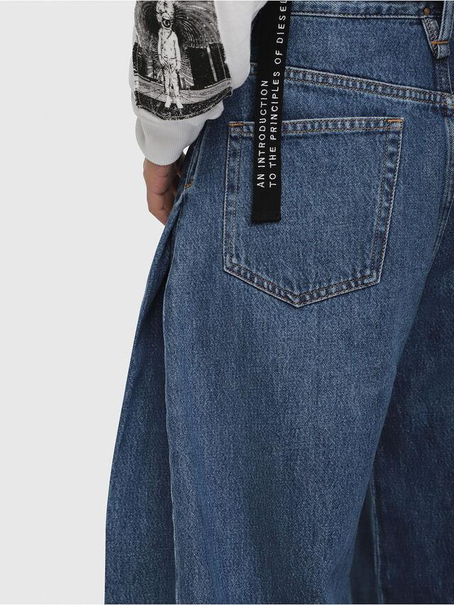 Diesel - D-Izzier 080AQ, Medium blue - Jeans - Image 4