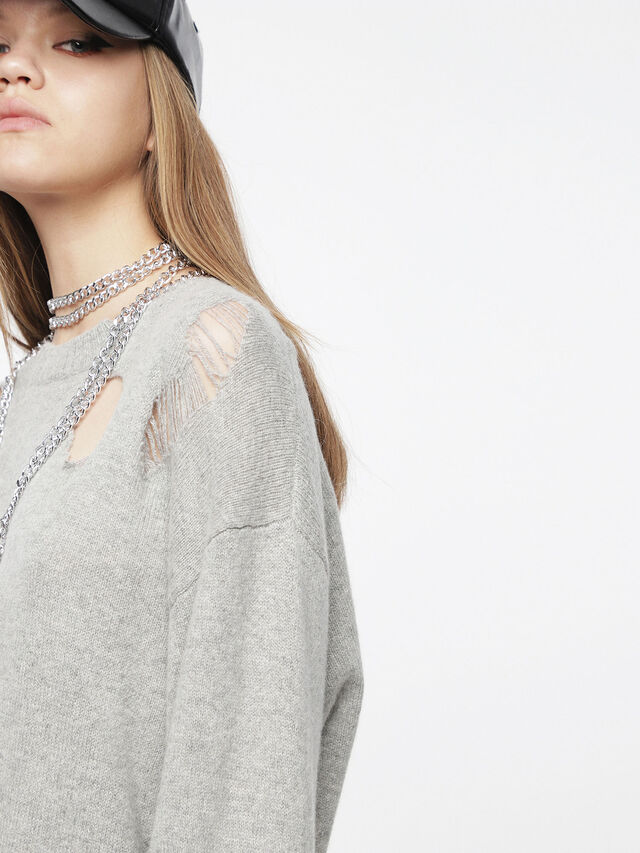 Diesel - M-PURE, Light Grey - Knitwear - Image 3