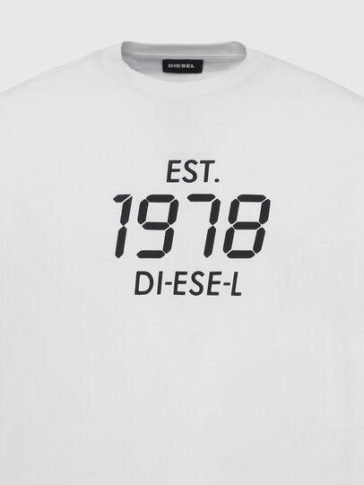 Diesel - T-DIEGOS-X42, White - T-Shirts - Image 3