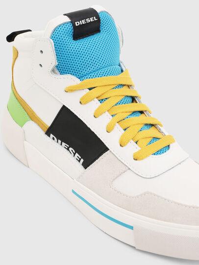Diesel - S-DESE MG MID, White - Sneakers - Image 4