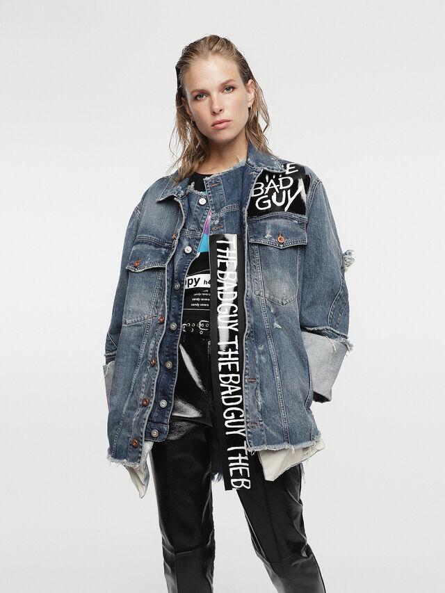 Diesel - HC-DE-VISEMAC, Blue Jeans - Denim Jackets - Image 3