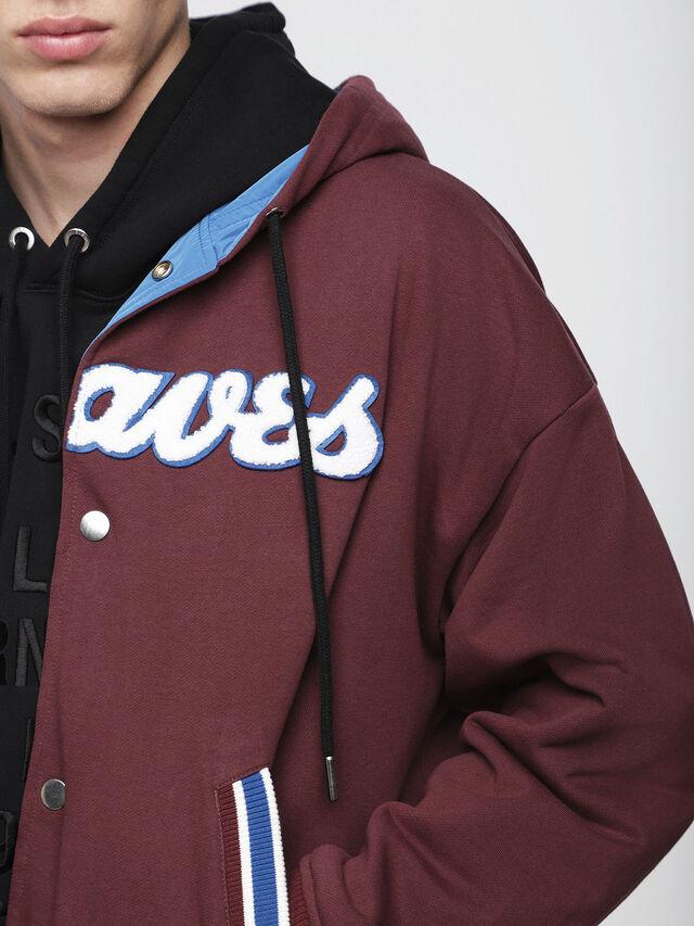 Diesel - S-BONY, Red/Blue - Jackets - Image 5