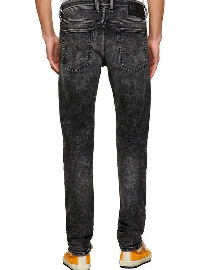 Diesel - Sleenker 09A17, Black/Dark grey - Jeans - Image 2
