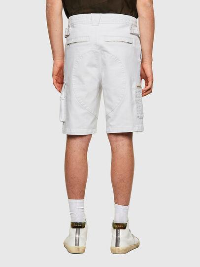 Diesel - D-CYAN-S-SP1, White - Shorts - Image 2