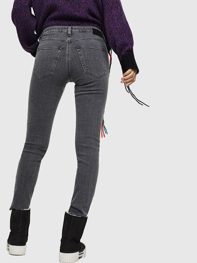 Diesel - Babhila 0890S, Light Grey - Jeans - Image 2