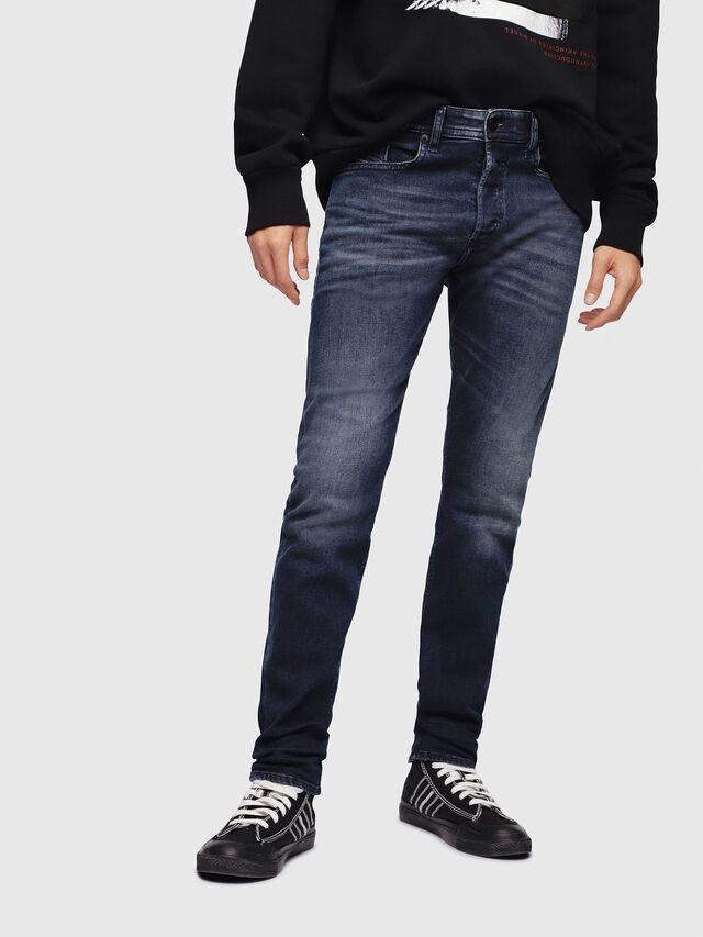 Diesel - Buster 087AS, Dark Blue - Jeans - Image 1