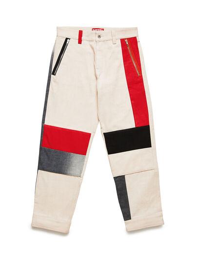 Diesel - GR02-P301-P, White - Pants - Image 1