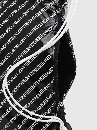 Diesel - COPYBACK, Black/White - Backpacks - Image 6