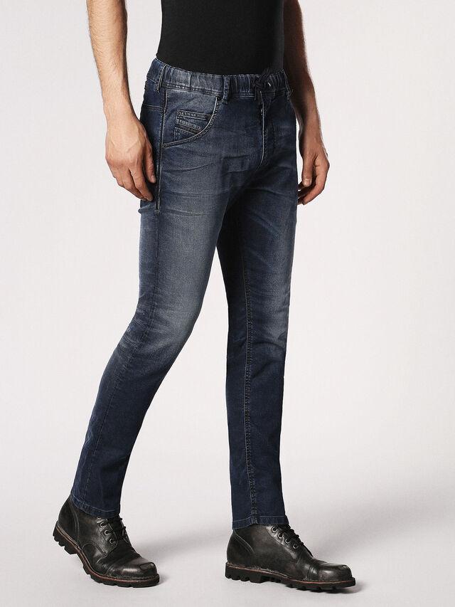 Diesel Krooley JoggJeans 0683Y, Dark Blue - Jeans - Image 6