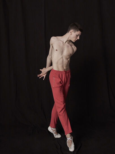 Diesel - GR02-P302, Red - Pants - Image 3