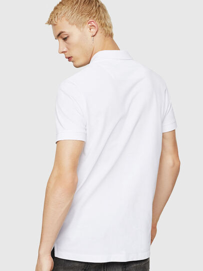 Diesel - T-WEET-DIV, White - Polos - Image 2