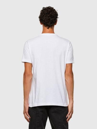 Diesel - T-DIEGOS-N30, White - T-Shirts - Image 2
