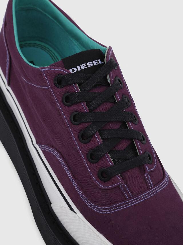 Diesel - H-SCIROCCO LOW, Dark Violet - Sneakers - Image 5