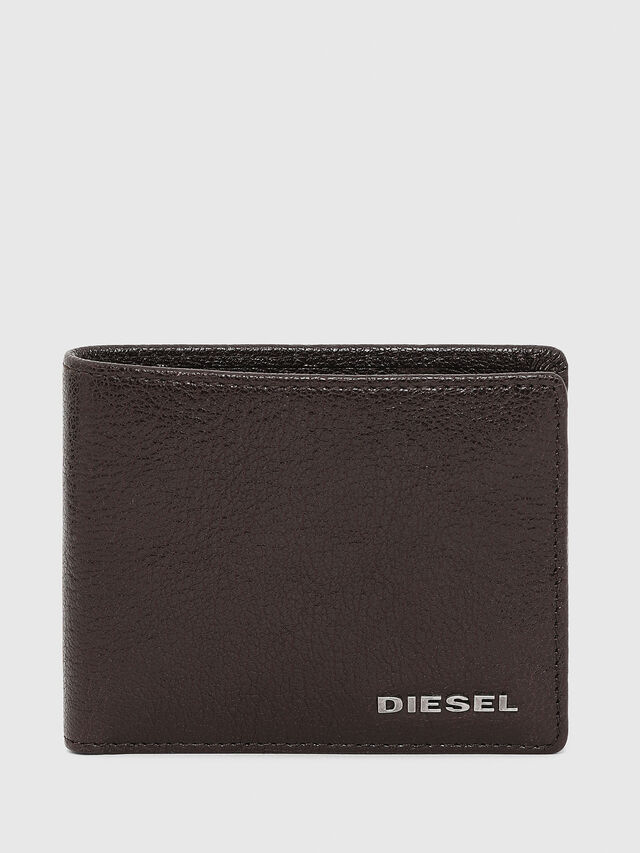 Diesel HIRESH XS, Brown - Small Wallets - Image 1