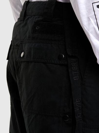 Diesel - P-JARROD, Black - Pants - Image 4