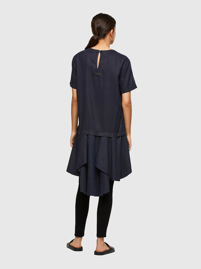 Diesel - DE-JOLLIE, Medium blue - Dresses - Image 2