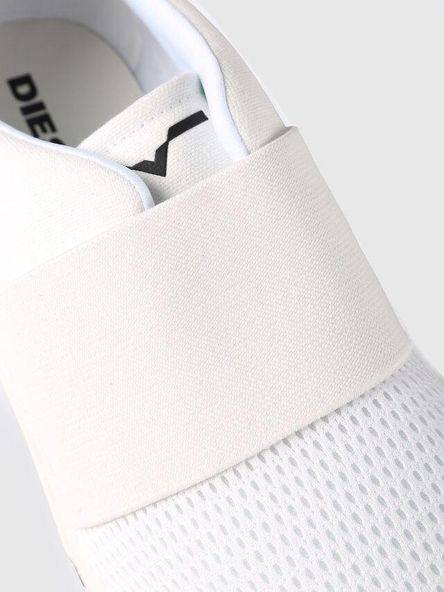 Diesel S-KB ELASTIC, White - Sneakers - Image 4
