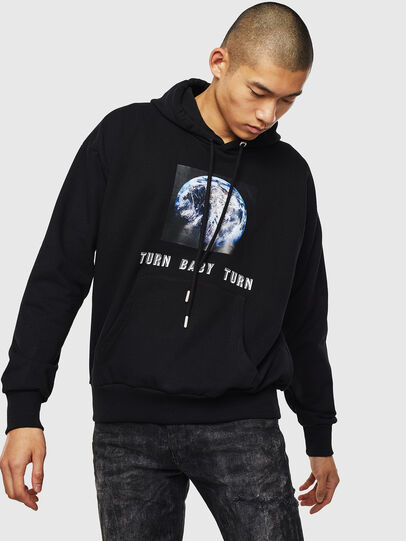 Diesel - S-ALBY-YA, Black - Sweaters - Image 1