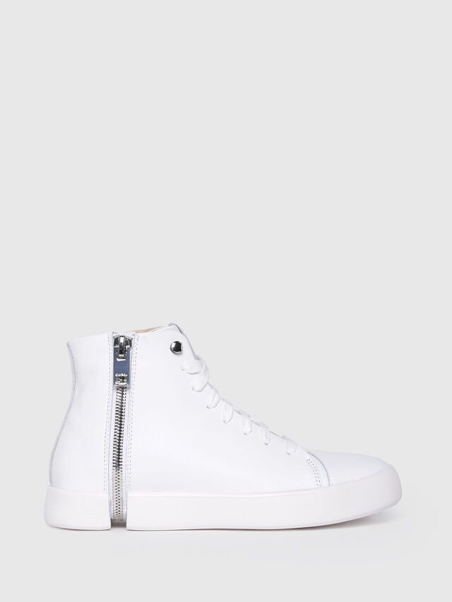 Diesel - S-NENTISH MC W, White - Sneakers - Image 1