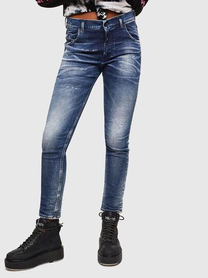 Diesel - Krailey JoggJeans 0096M, Dark Blue - Jeans - Image 1