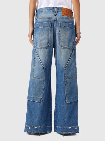 Diesel - D-Laly 0AFAM, Medium blue - Jeans - Image 2