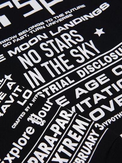 Diesel - TJUSTLSBX1 OVER, Black - T-shirts and Tops - Image 3